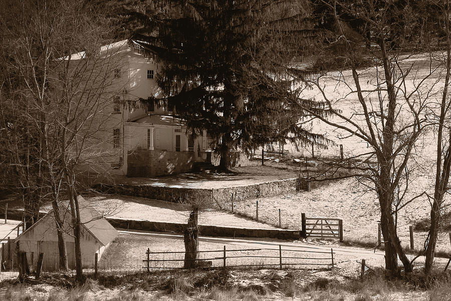 Andrew Photograph - Karl Kuerner Farm by Gordon Beck