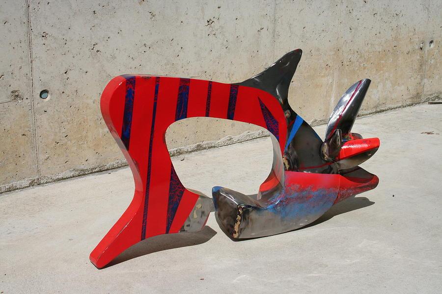 Metal Sculpture - Karpa by Oreste Minini