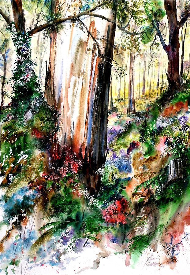 Landscape Painting - Karri Power by Kevan Collett