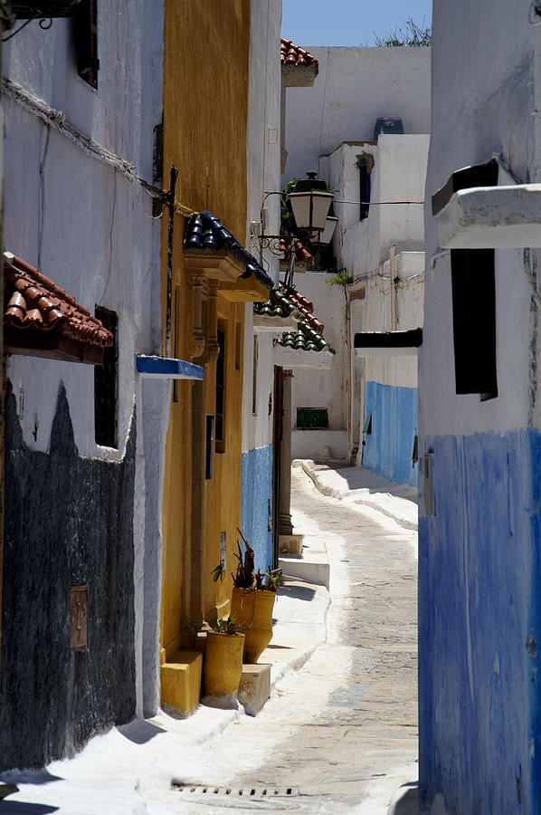 Morocco Photograph - Kasbah Of The Udayas by Peter Verdnik