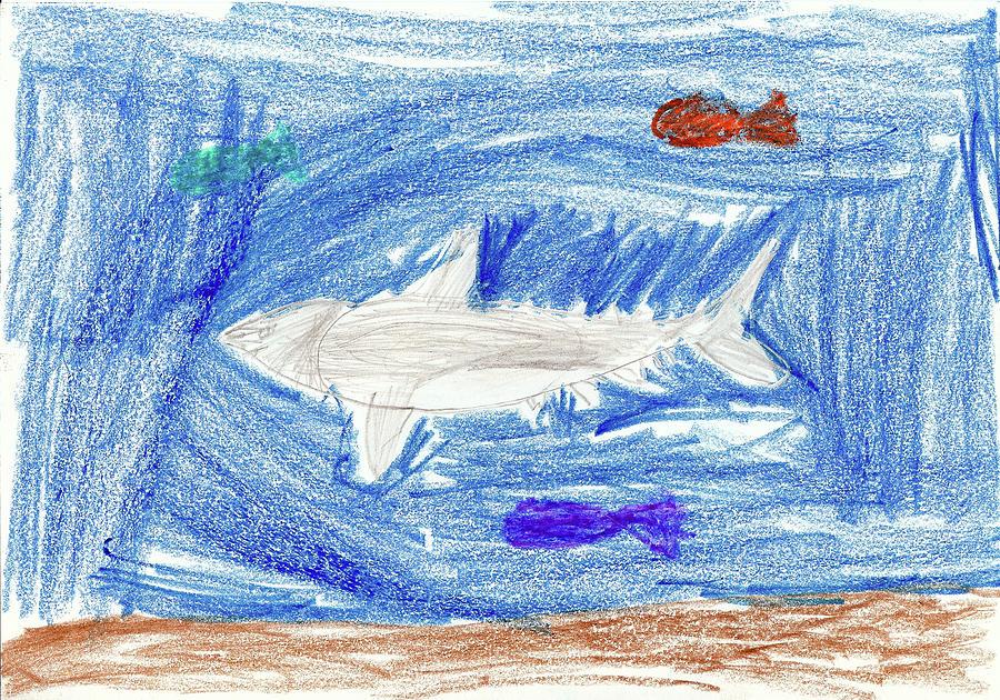 Kason A Drawing by Kason A