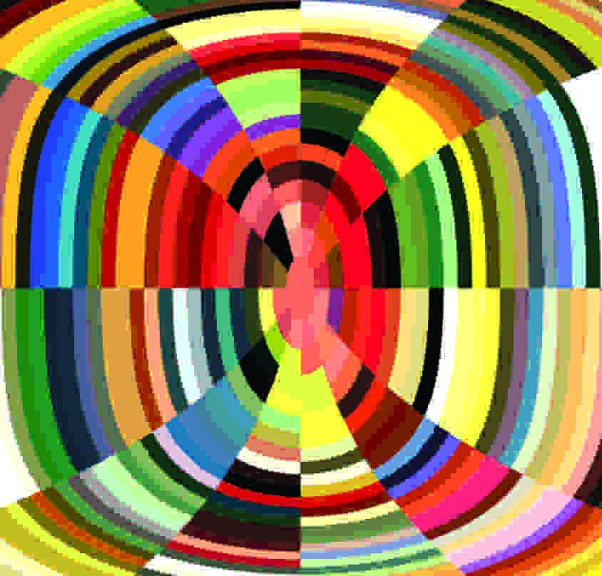 Textile Digital Art - Katanga Cross by Llan Valls