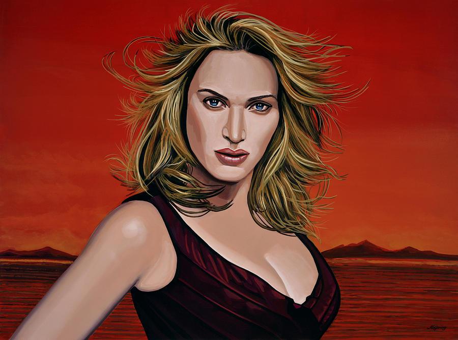 Kate Winslet Painting - Kate Winslet by Paul Meijering