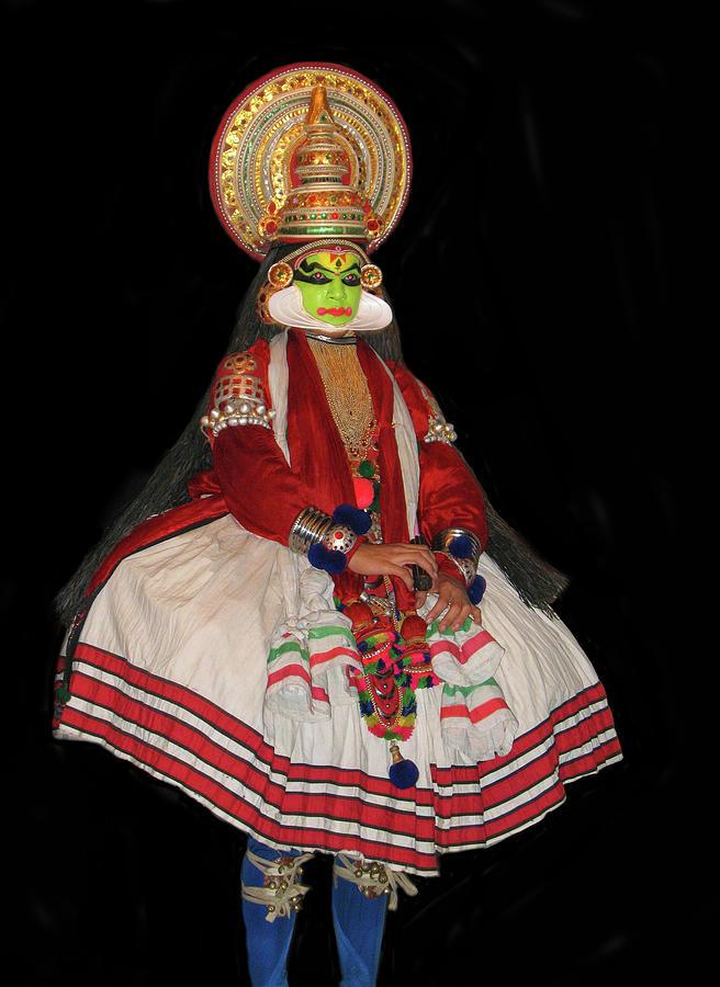 Kathakali Photograph - Kathakali Dancer by Art Spectrum
