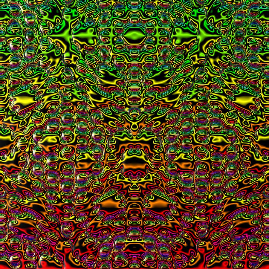 Abstract Digital Art - Kathroport by Andrew Kotlinski