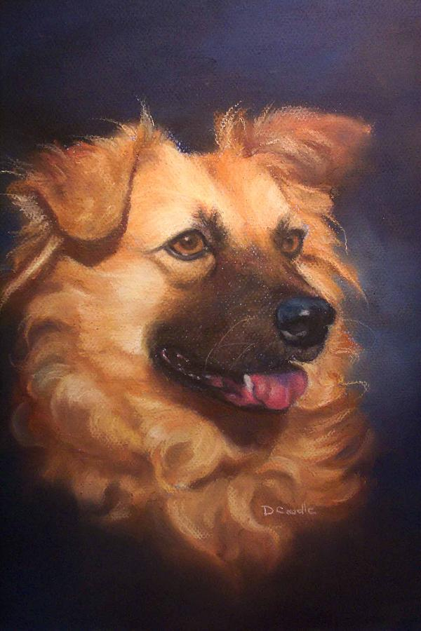 Chow Painting - Katie by Diane Caudle