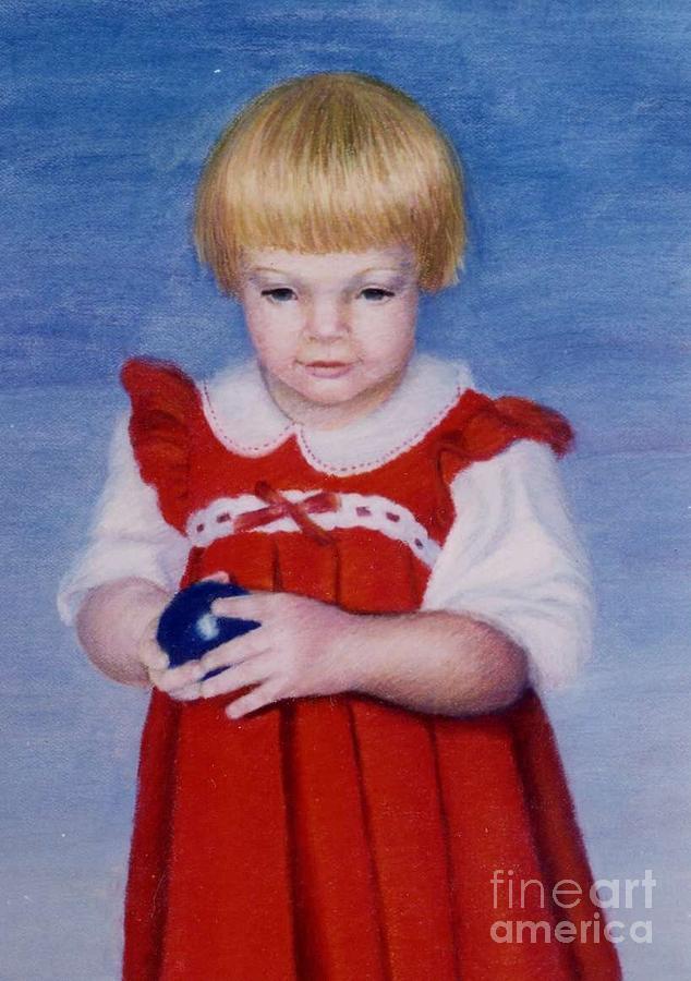 Figurative Painting - Katrina by Mary Erbert