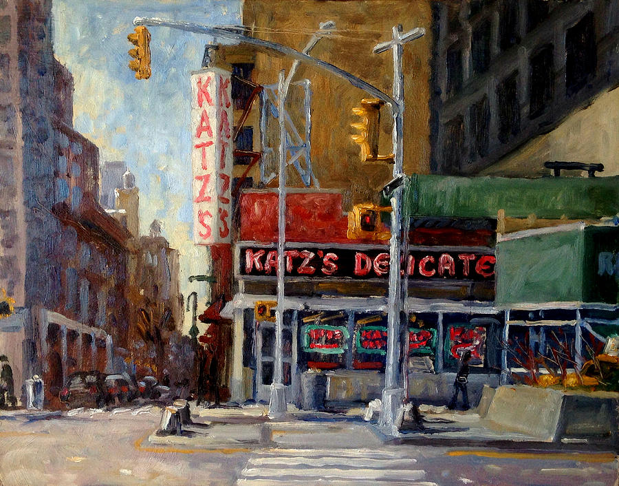 Katz's Delicatessen, New York City by Thor Wickstrom