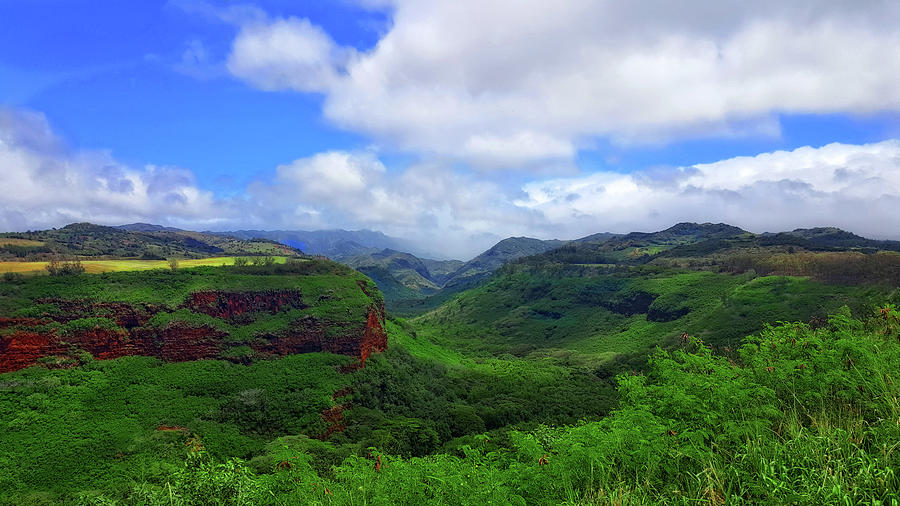 Kauai Mountains by Eric Wiles