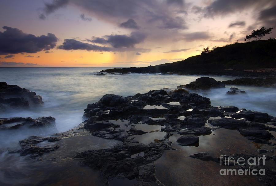 Kauai Photograph - Kauai Storm Passing by Mike  Dawson