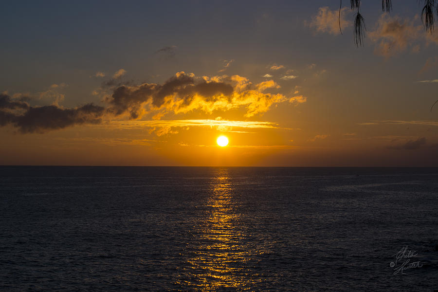 Kauai Sunset 4 by Chita Hunter