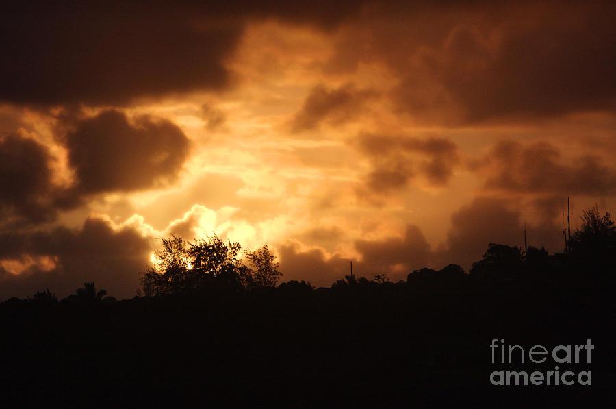 Kauaiian Sunset Photograph