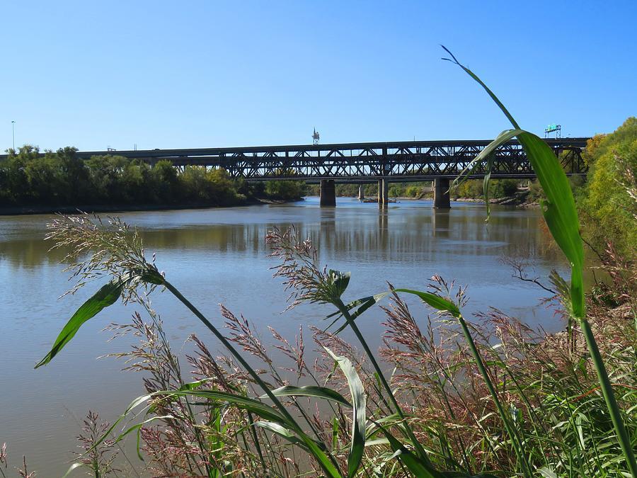Kaw Point Bridges by Keith Stokes