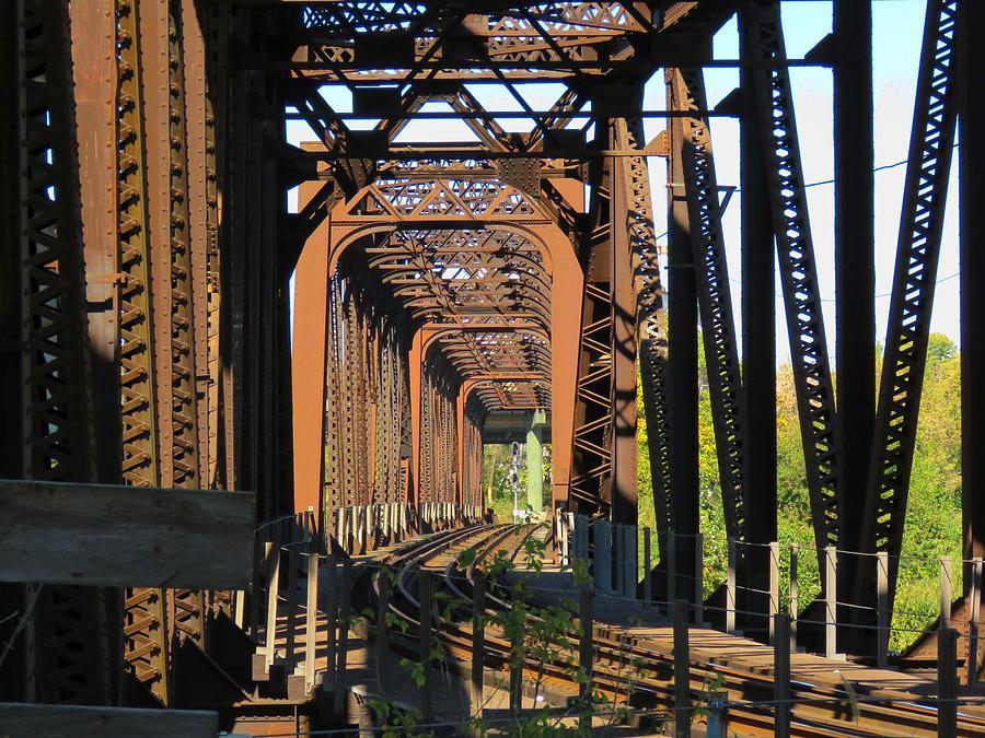 Kaw Point Railroad Bridge by Keith Stokes