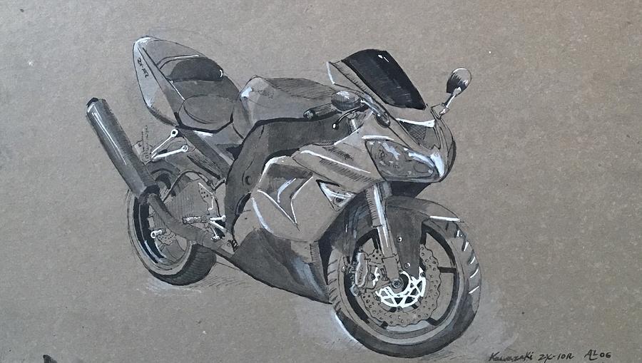 Kawawasaki moyorcycle 2 by Alejandro Lopez-Tasso