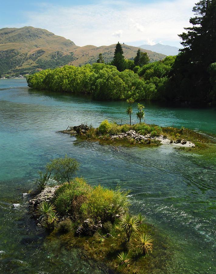 Clean Photograph - Kawerau River by Kevin Smith