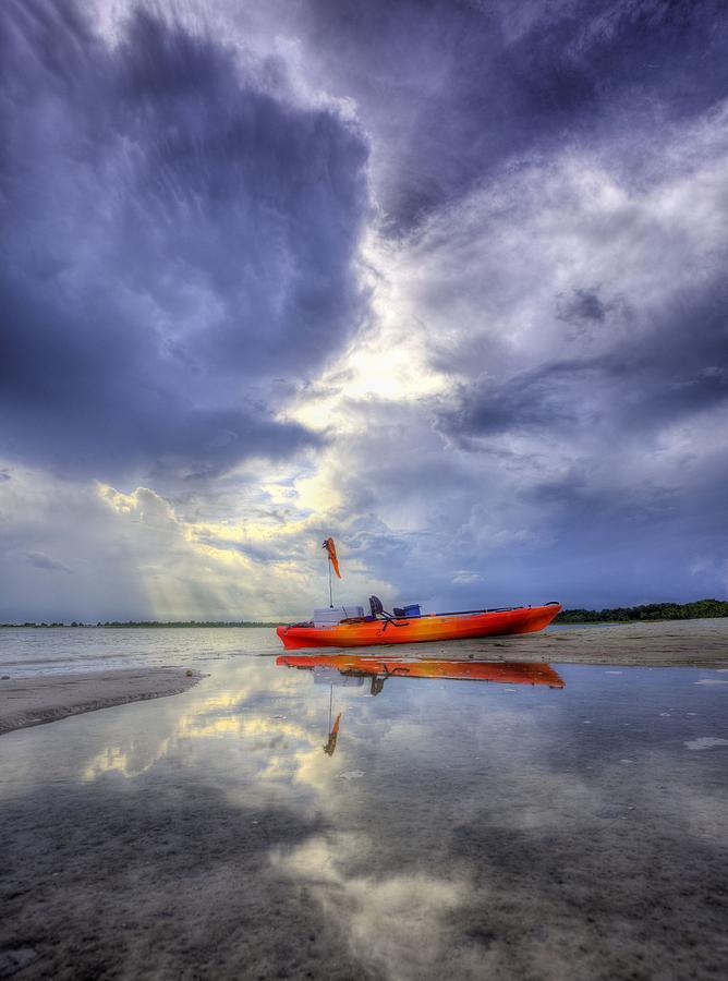 Panama City Beach Photograph - Kayak Panama City Beach by JC Findley