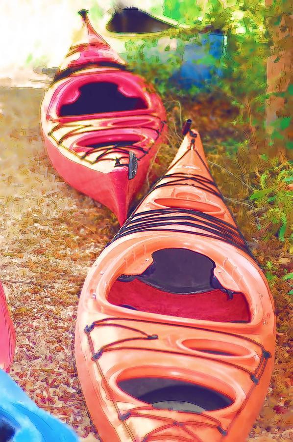 Kayak Photograph - Kayak Time by Donna Bentley