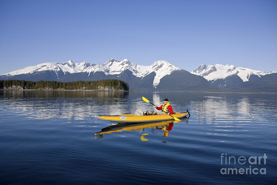 Adventure Photograph - Kayaking Favorite Passage by John Hyde - Printscapes