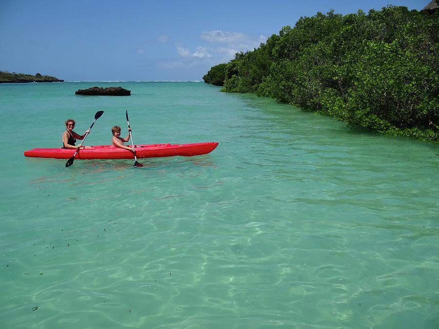 Unschooling Photograph - Kayaking Perfection 2 by Exploramum Exploramum