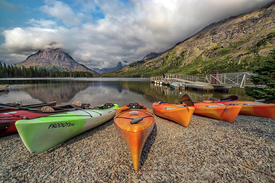 Kayaks Photograph