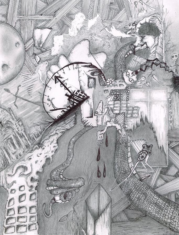 Kayla Dan Collaboration Drawing