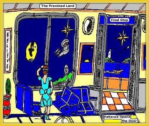 Kaylese journey home. Digital Art by Anthony Benjamin