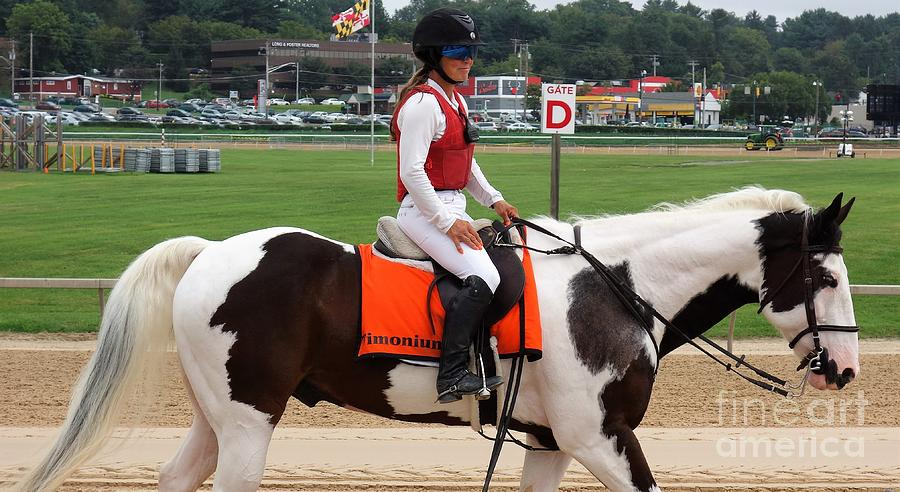 Timonium Photograph - Kaymarie Kreidel - Timonium 2 by Anthony Schafer