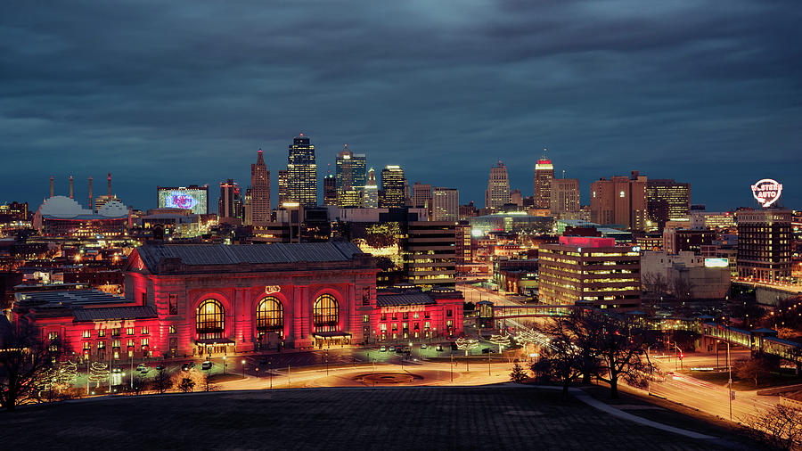 KC Chiefs Skyline by Ryan Heffron