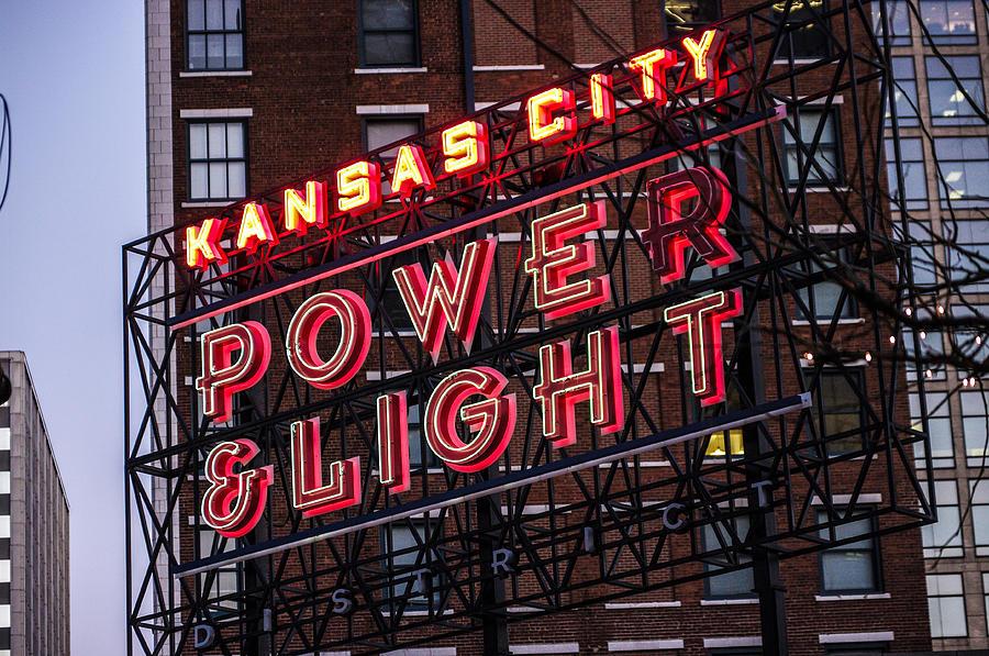 Kansas City Photograph - Kc Power And Light by Jim Mathis