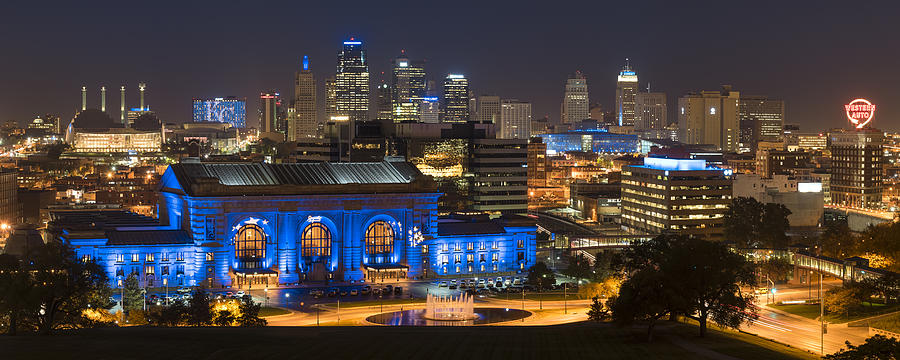 KC Royal Skyline by Ryan Heffron