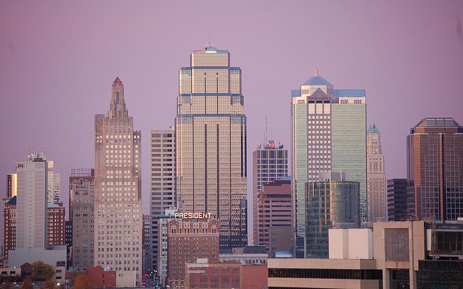 Kc Skyline Photograph by Christopher Butler
