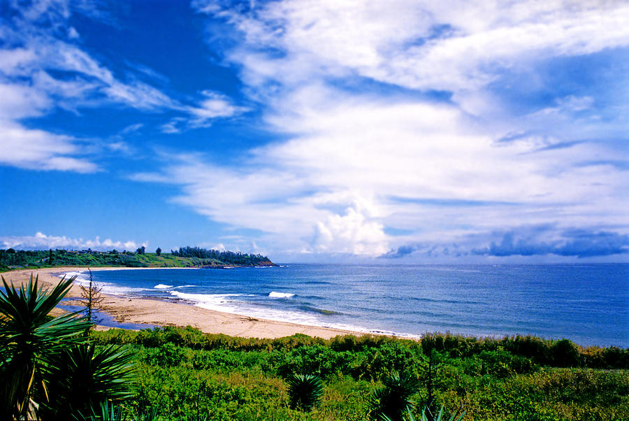 Hawaii Photograph - Kealia Beach by Kevin Smith