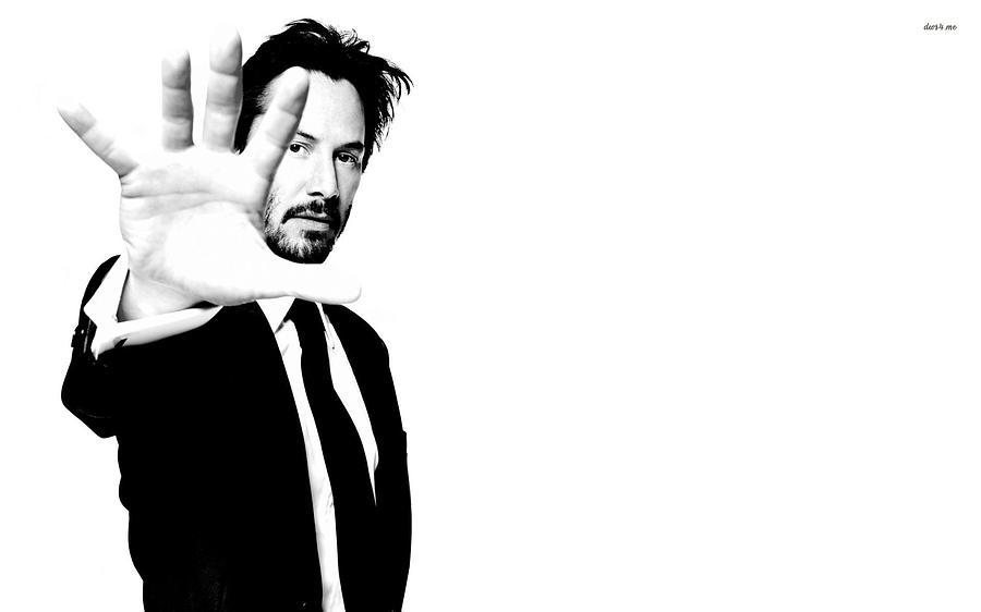 Keanu Reeves Digital Art - Keanu Reeves by Dorothy Binder