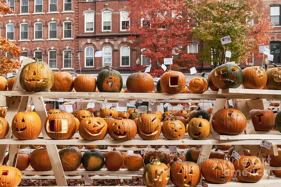 Cheshire County Photograph - Keene Pumpkin Festival by John Greim