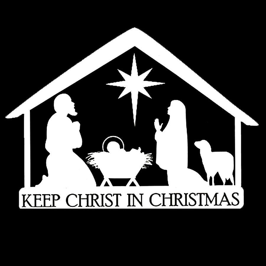 Keep Christ In Christmas Photograph by Munir Alawi