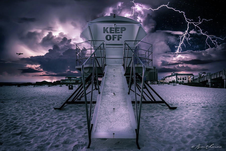 Keep Off Digital Art by Brent Shavnore