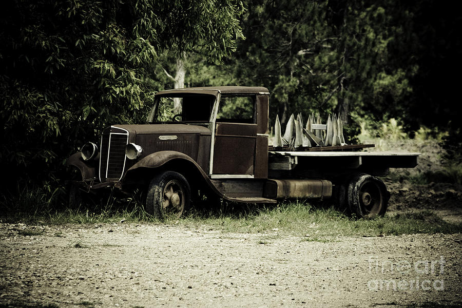 Truck Photograph - Keep On Trucking by Ian Fraser