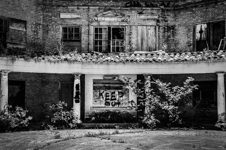 Baker Hotel Photograph - Keep Out by Amber Dopita