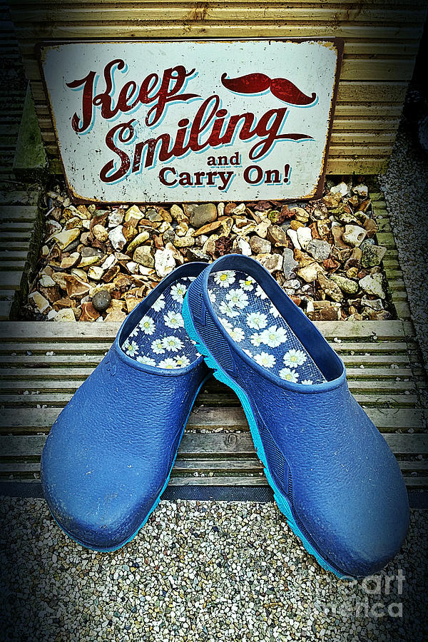 Keep smiling and carry on by Vix Edwards