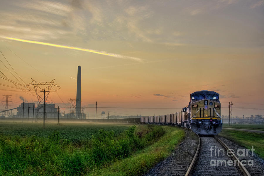2009 Photograph - Keeping on Track by Larry Braun