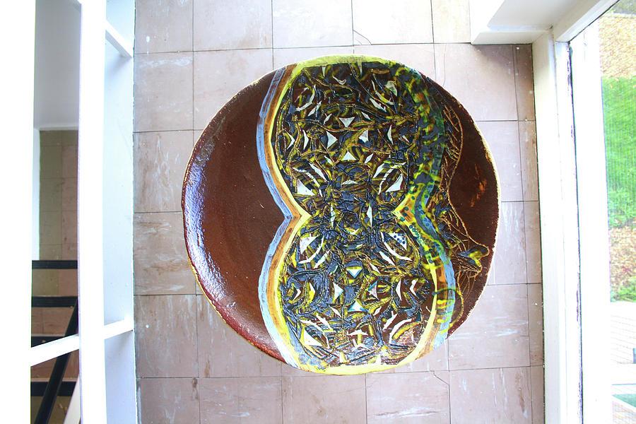 Saviour Ceramic Art - Keepsake View 2 by Gloria Ssali
