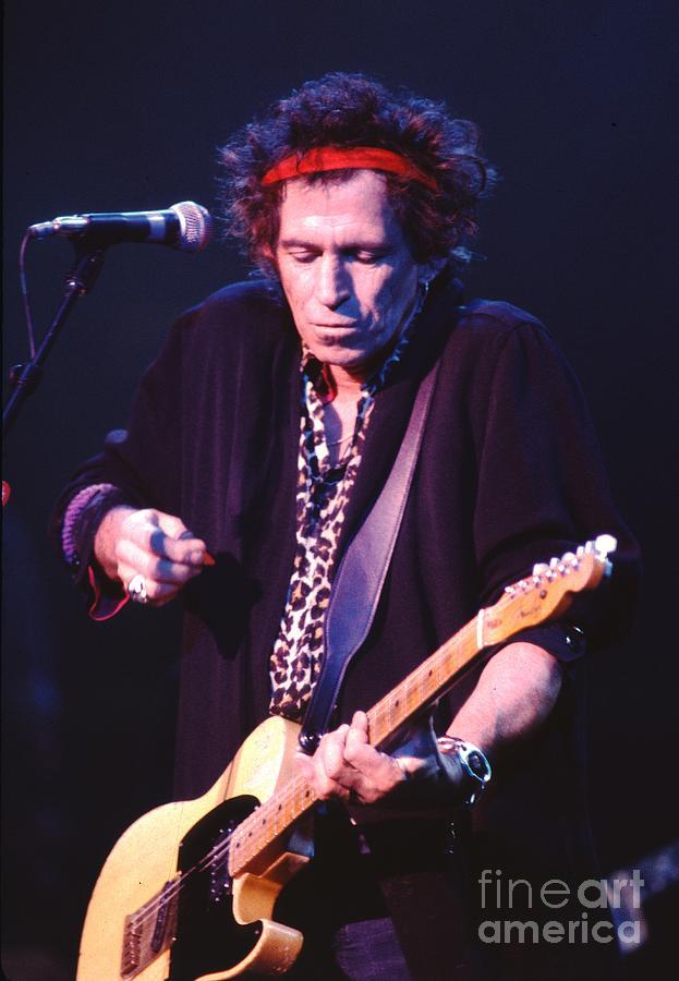 Concert Photograph - Keith Richards by Concert Photos