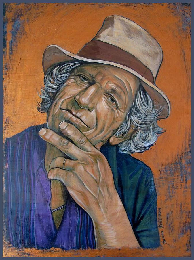 Keith Richards Painting - Keith Richards by Jovana Kolic