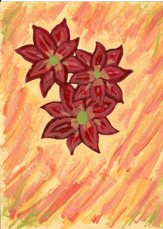Flower Painting - Kelli by Laura Lillo