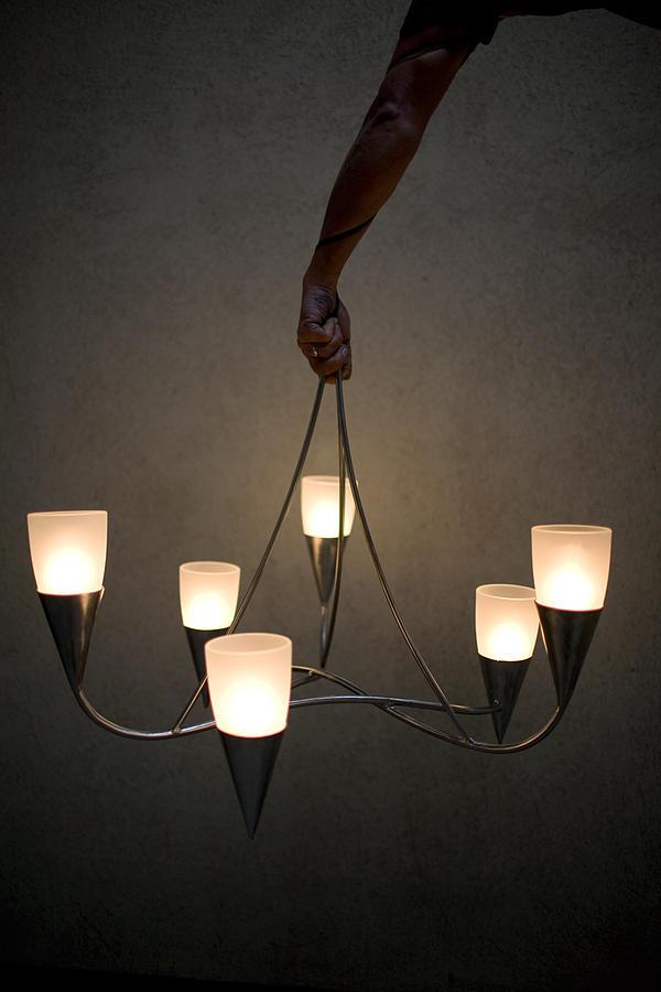Lighting Sculpture - Kelly Chandelier by David Tonnesen