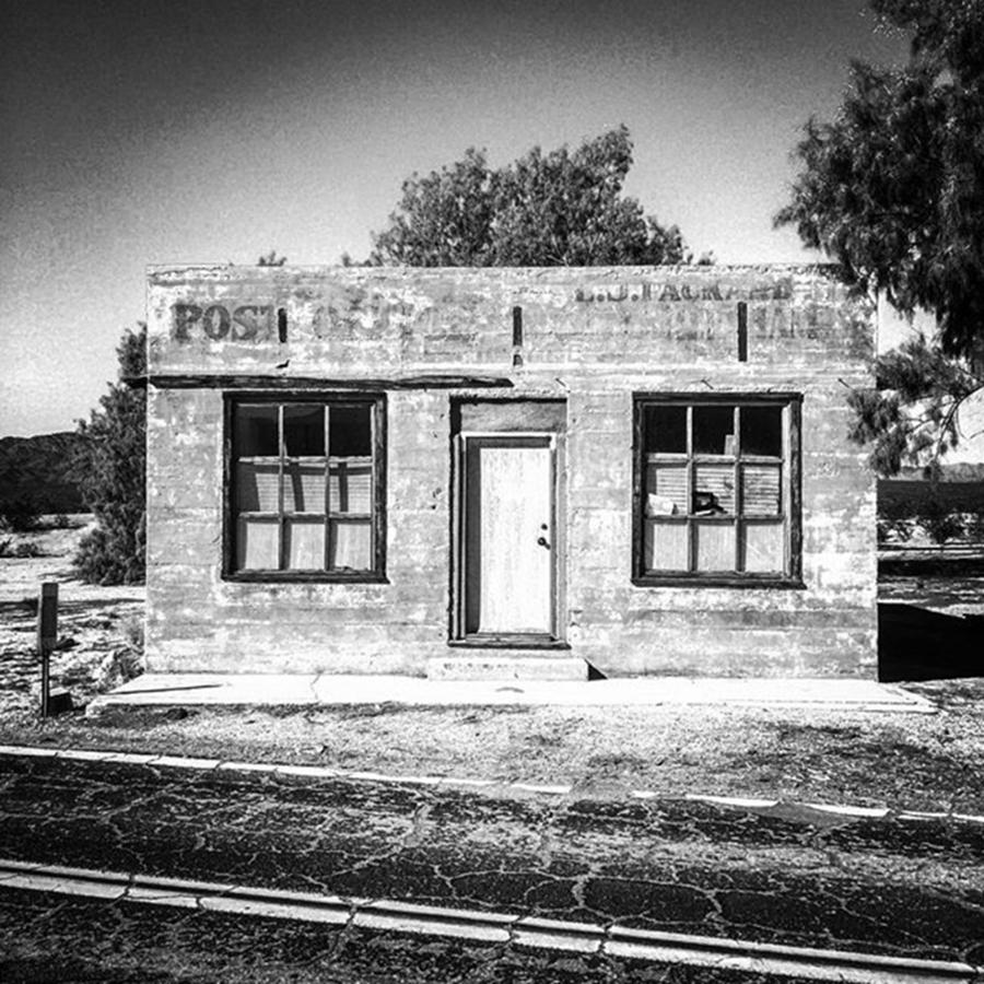 Blackandwhite Photograph - Kelso Post Office. The Old Post Office by Alex Snay