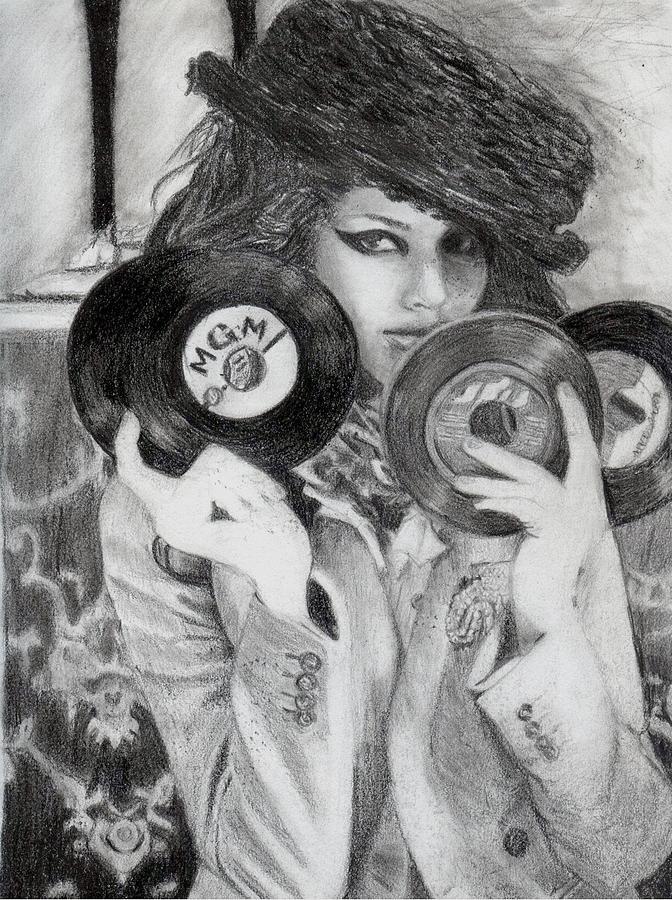 Kemp Drawing - Kemp Muhl by Angelica Medrano