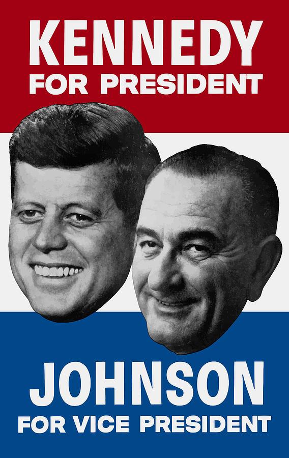 1960 US Presidential Election Retro Poster Various Sizes John F Kennedy JFK