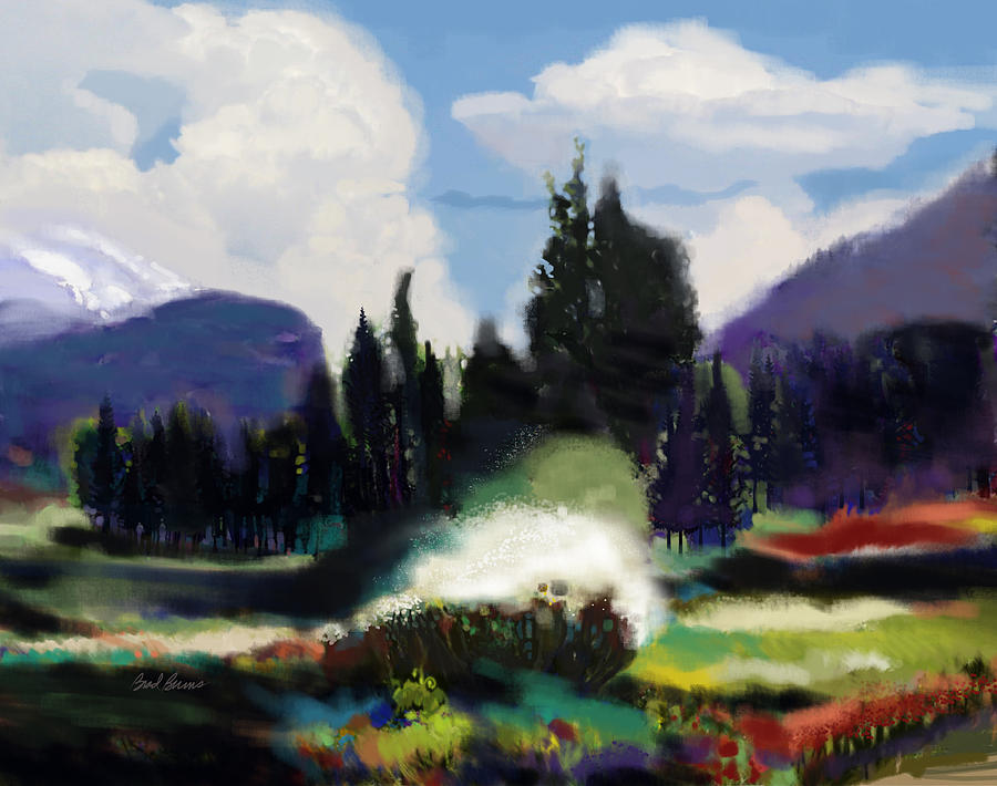 Kennedy Meadows Painting